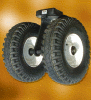 Twin Pneumatic Tyred Castor (4200kg)